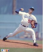 Orel Hershiser Los Angeles Dodgers SUPER SALE Slight Corner Crease Barry Colla 8X10 Glossy Card Stock