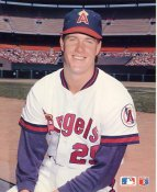 Jim Abbott California Angels SUPER SALE Slight Corner Crease Barry Colla 8X10 High Gloss Card Stock