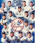 Yankees 1999 New York Team Mariano Rivera, Andy Pettitte, Bernie Williams, Joe Girardi, Orlando Hernandez, Joe Girardi SUPER SALE 8X10 Photo