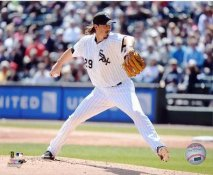 Jeff Samardzija Chicago White Sox SATIN 8X10 Photo
