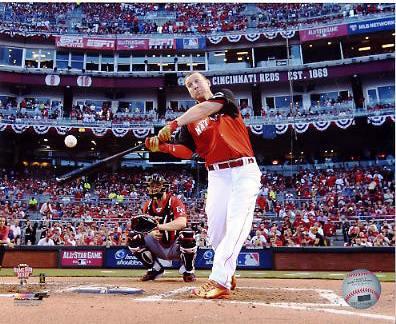 Todd Frazier 2015 Home Run Derby Champion Washington Nationals SATIN 8X10 Photo