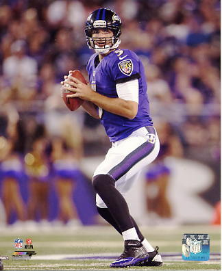 Joe Flacco Baltimore Ravens SATIN 8X10 Photo