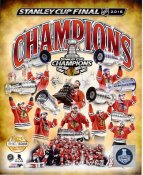 Blackhawks 2015 Stanley Cup Champions Numbered Limited Edition Chicago SATIN 8x10 Photo