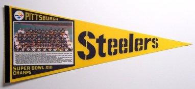 Steelers 1979 Original Super Bowl XIII Steeler Pennant
