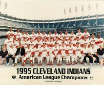Cleveland Indians 1995 American League Champions LIMITED STOCK 8X10 Photo