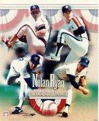 Nolan Ryan Hall Of Fame LIMITED STOCK No Hologram 8X10 Photo