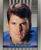 Jim Harbaugh Indianapolis Colts SUPER SALE DonRuss Studio 8X10 Photo
