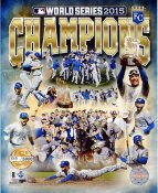 Royals 2015 World Series Champions NUMBERED LIMITED EDITION Kansas City SATIN 8x10 Photo
