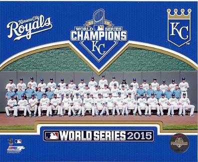 Royals 2015 World Series Champions Sit Down Kansas City SATIN 8x10 Photo