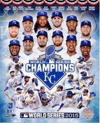 Royals 2015 World Series Champions Composite Kansas City SATIN 8x10 Photo