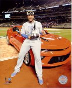 Salvador Perez 2015 World Series MVP Kansas City Royals SATIN 8X10 Photo