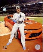 Salvador Perez 2015 World Series MVP Kansas City Royals SATIN 8X10 Photo