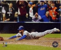 Eric Hosmer 2015 World Series Game Tying Run Kansas City Royals SATIN 8X10 Photo