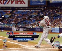 David Ortiz Hits 500th Career Home Run at Tropicana Field 9/12/15 Boston Red Sox SATIN 8x10 Photo
