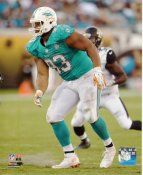 Ndamukong Suh Miami Dolphins SATIN 8X10 Photo