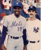 Dwight Gooden & Don Mattingly New York Mets & Yankees LIMITED STOCK 8X10 Photo