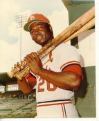 Lou Brock St. Louis Cardinals No Hologram LIMITED STOCK 8X10 Photo