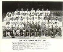 Denis Potvin, Duane Sutter, Clark Gillies, Brent Sutter, Byran Trottier, Bill Smith 1984-85 New York Islanders LIMITED STOCK 8x10 Photo