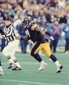 Levon Kirkland Pittsburgh Steelers Slight Crease Super Sale 8x10 Photo