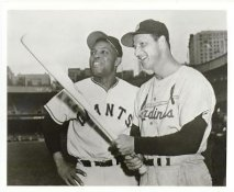 Willie Mays & Stan Musial San Francisco Giants LIMITED STOCK 8X10 Photo
