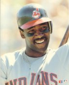 Joe Carter Cleveland Indians Glossy Card Stock LIMITED STOCK 8X10 Photo