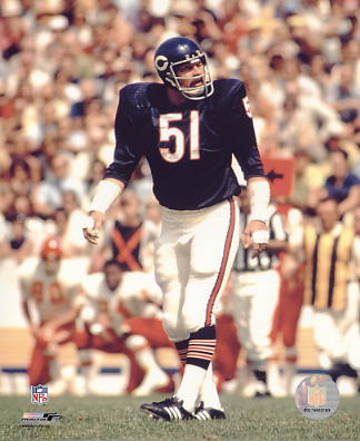 Dick Butkus Chicago Bears LIMITED STOCK 8X10 Photo