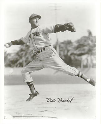 Dick Bartel New York Giants LIMITED STOCK 8X10 Photo