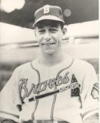 Vern Bickford Boston Braves LIMITED STOCK 8X10 Photo