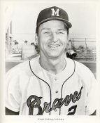 Frank Bolling Milwaukee Braves LIMITED STOCK 8X10 Photo