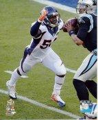 Von Miller Super Bowl 50 Denver Broncos SATIN 8X10 Photo