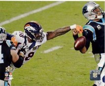 Von Miller Super Bowl 50 Denver Broncos SATIN 8X10 Photo