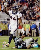 DeMarcus Ware Super Bowl 50 Denver Broncos SATIN 8X10 Photo