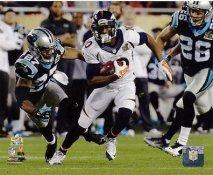 Emmanuel Sanders Super Bowl 50 Denver Broncos SATIN 8X10 Photo
