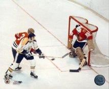 Tony Esposito & Phil Esposito LIMITED STOCK Chicago Blackhawks / Boston Bruins 8X10 Photo