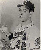 Gene Conley Milwaukee Braves LIMITED STOCK 8X10 Photo