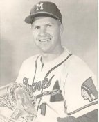 Del Crandall Milwaukee Braves LIMITED STOCK 8X10 Photo