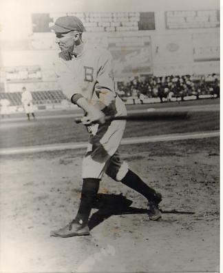 Hank Gowdy Boston Braves Slight Stain on Photo LIMITED STOCK 8X10 Photo