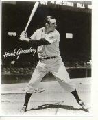 Hank Greenberg Detroit Tigers LIMITED STOCK 8X10 Photo