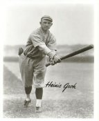 Heinie Groh Cincinnati Reds LIMITED STOCK 8X10 Photo