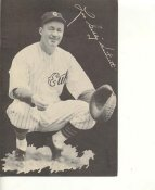 Gabby Hartnett Chicago Cubs LIMITED STOCK 6X9 Photo