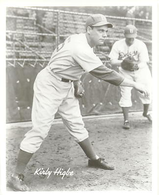 Kirby Higbe Brooklyn Dodgers LIMITED STOCK 8X10 Photo