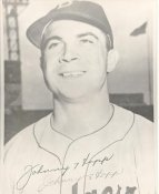 Johnny Hopp Brooklyn Dodgers LIMITED STOCK 8X10 Photo