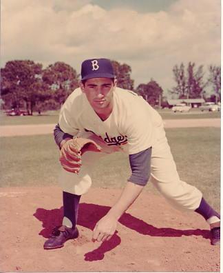Sandy Koufax Brooklyn Dodgers LIMITED STOCK 8X10 Photo