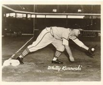 Whitey Kurowski St Louis Cardinals LIMITED STOCK 8X10 Photo