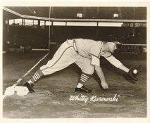 Whitey Kurowski St Louis Cardinals LIMITED STOCK 8X10 Photo