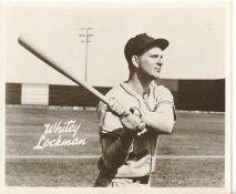 Whitey Lockman New York Giants LIMITED STOCK 8X10 Photo