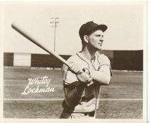 Whitey Lockman New York Giants LIMITED STOCK 8X10 Photo