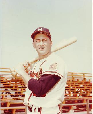 Johnny Logan Milwaukee Braves LIMITED STOCK 8X10 Photo