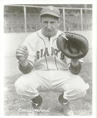 Ernie Lombardi New York Giants LIMITED STOCK 8X10 Photo