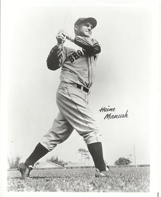 Heine Manush Brooklyn Dodgers LIMITED STOCK 8X10 Photo